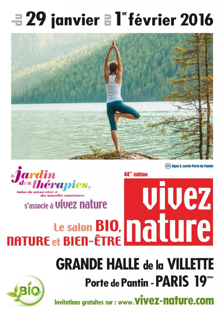 Vivez nature 2016 le salon bio paris l 39 omnicuiseur for Salon bio paris 2016