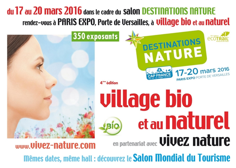 salon village bio et au naturel 2016 paris l 39 omnicuiseur vitalit. Black Bedroom Furniture Sets. Home Design Ideas