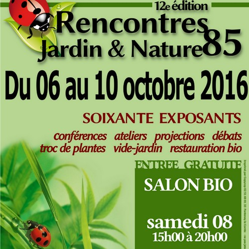 Salon bio aux rencontres jardin et nature fontenay le for Salon bio paris 2016