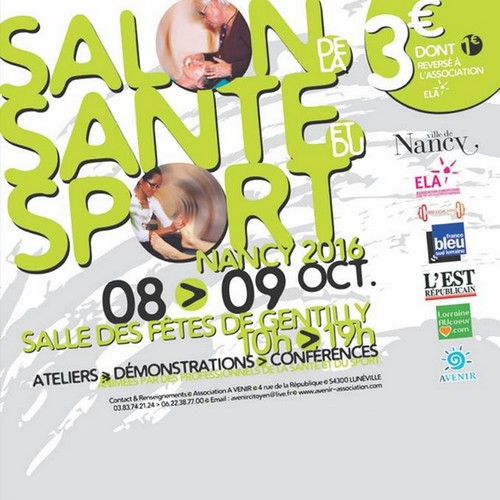 Salon de la sant et du sport 2016 nancy l 39 omnicuiseur for Salon de la photo 2016