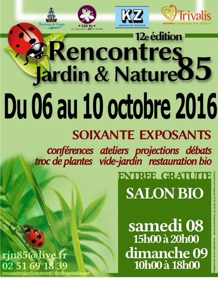 salon bio aux rencontres jardin et nature fontenay le comte l 39 omnicuiseur vitalit. Black Bedroom Furniture Sets. Home Design Ideas