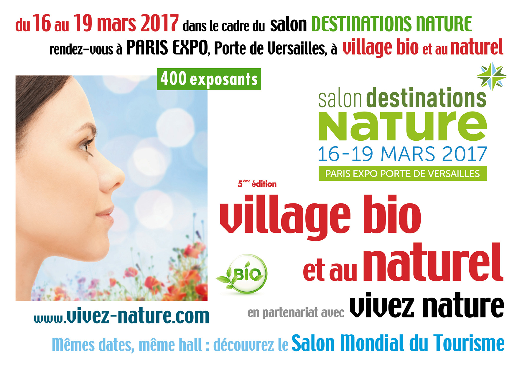 Salon village bio et au naturel 2017 de paris 15e l for Salon bio paris 2016