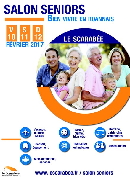 Salon seniors bien vivre en roannais 2017 roanne for Salon seniors