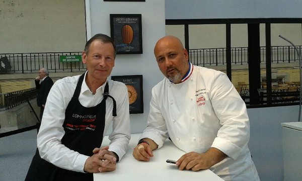 Le chef Anton au Taste of Paris 2017